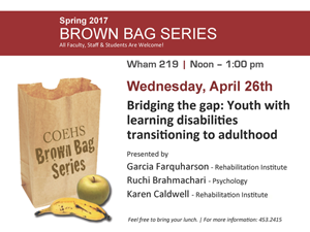 Bridging the gap: Youth with learning disabilities transitioning to adulthood