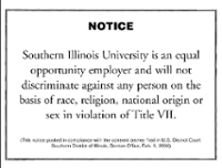 Equal Opportunity Employee notice