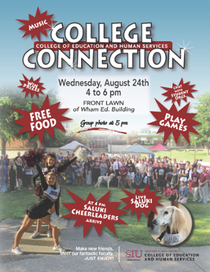 COEHS College Connection event flyer