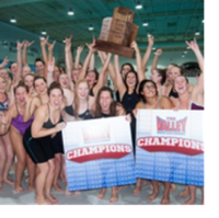 Saluki women swimming and diving team